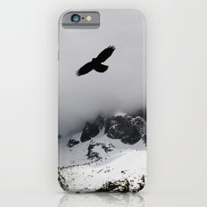 Black Over Grey Over White iPhone 6s Slim Case