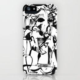 Sunrise - b&w iPhone Case