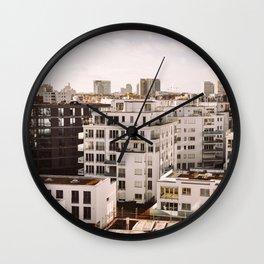 Backyard Residences Wall Clock