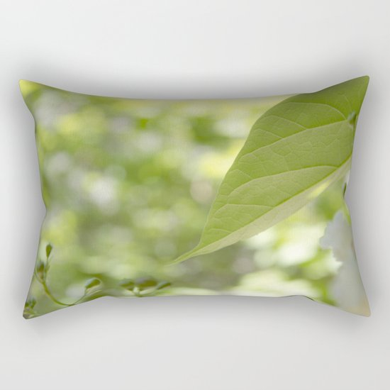 green moments Rectangular Pillow