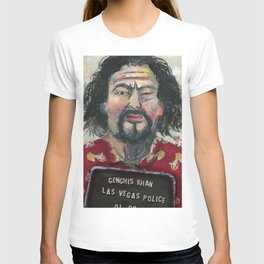 Genghis Khan's Vegas Arrest T-shirt