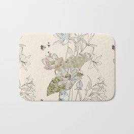 Lotus art Bath Mat