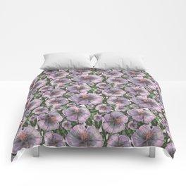 Marsh-Mallow flower pattern Comforters