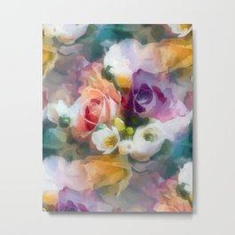 Fresh spring floral pattern Metal Print
