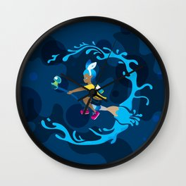 Inkling Delivery Service Wall Clock