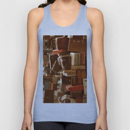 TOWER OF LUGGAGE Unisex Tank Top