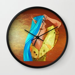 All That's Gold Wall Clock