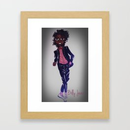 Billy Jean Framed Art Print