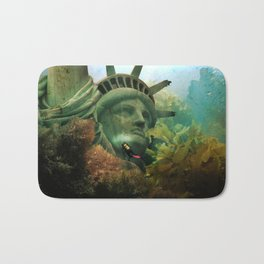 East Coast Sightseeing Bath Mat