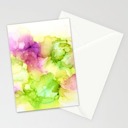 Limeade Flamingo Cloud Fish Emergence Stationery Cards