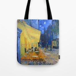 Vincent Van Gogh - Cafe Terrace at Night Tote Bag