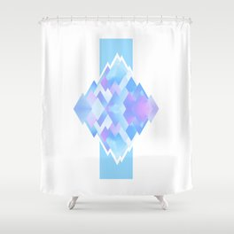 In the air Shower Curtain