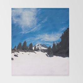 Mt. Hood Throw Blanket