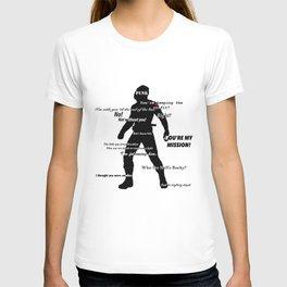 Bucky Barnes Quotes T-shirt