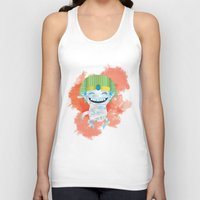 kiki Tank Tops featuring King KiKi by Unknown Illustration