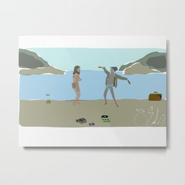 This Is Our Land, Sean Early // Moonrise Kingdom(2012), Wes Anderson Metal Print