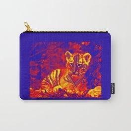 Aztec lion cub Carry-All Pouch