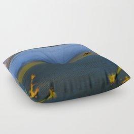 Pastel Muskrat  Floor Pillow