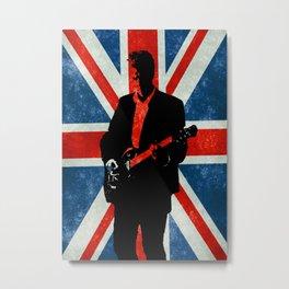 Twelve's Guitar Metal Print