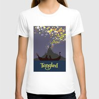 tangled T-shirts featuring Tangled by TheWonderlander