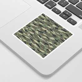 Fish Camo JUNGLE Sticker