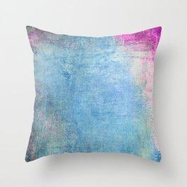 color & texture Throw Pillow