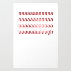 agh Art Print