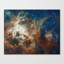 Space Nebula, Star and Space, A View of Galaxy and Outerspace Canvas Print