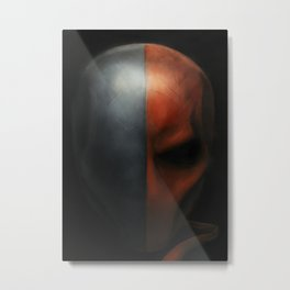 Deathstroke -#2 2017 Original Painting Metal Print