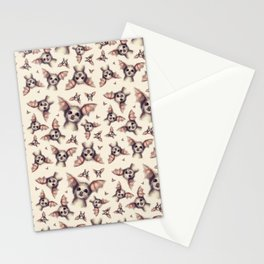 What the Fox - Pattern Stationery Cards