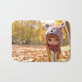 Honey - Autumn nature Bath Mat