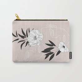 Two Faces Floral Carry-All Pouch