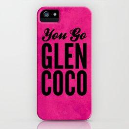 Glen Coco Pink iPhone Case