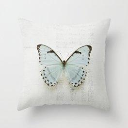 Morpho Throw Pillow