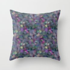 Dark holographic Throw Pillow