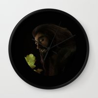 thorin Wall Clocks featuring Thorin by LindaMarieAnson