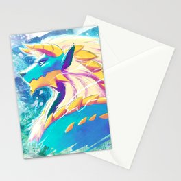 Zinogre - The Thunder Wolf Stationery Cards