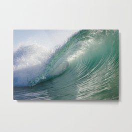 Dreamy Greens Metal Print
