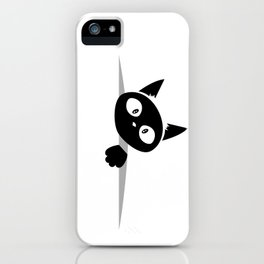 Cat inside iPhone Case