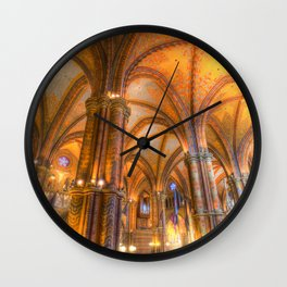 Mathias Church Budapest Wall Clock