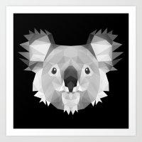 koala Art Prints featuring Koala by Taranta Babu