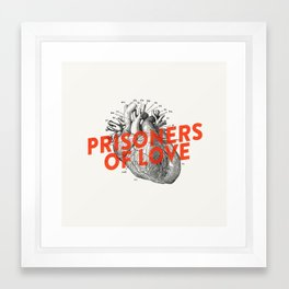 prisoner Framed Art Print