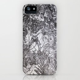 Lithe intention - Strained animation iPhone Case