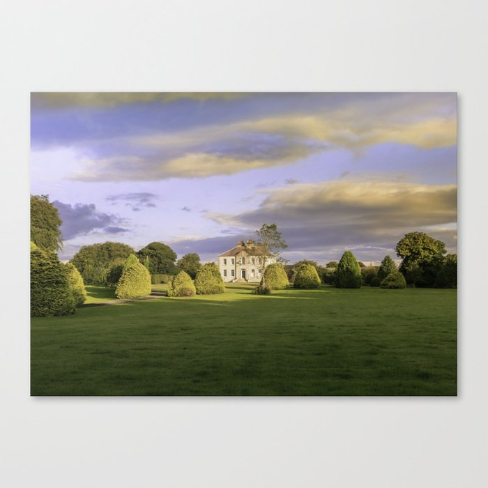 The Old country house Canvas Print