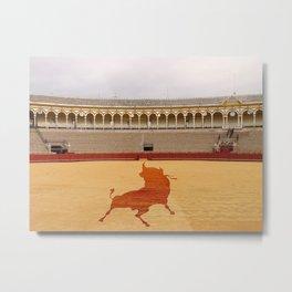 Seville bull Metal Print