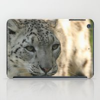 snow leopard iPad Cases featuring Snow Leopard by Sean Foreman