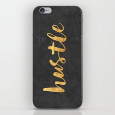 Hustle iPhone Skin