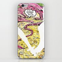 smaug iPhone & iPod Skins featuring Smaug and Bilbo by Rob O'Connor