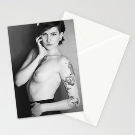 Nude 2012 1 BW Stationery Cards