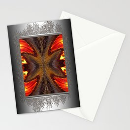 Color Fashion Abstract Stationery Cards